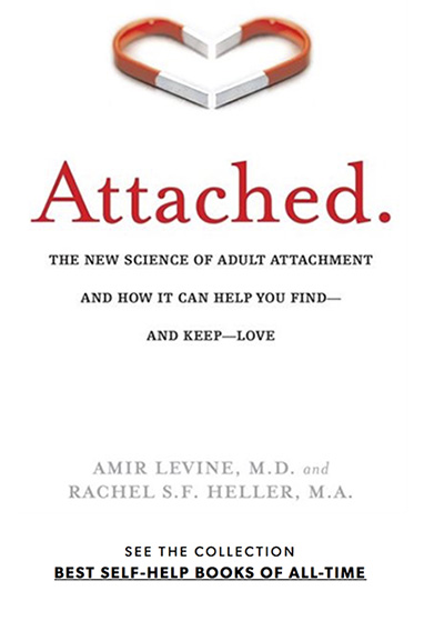 Book entitled Attached - The New Science of Adult Attachment