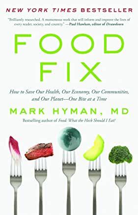 Book entitled Food Fix