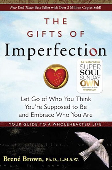 Book entitled The Gifts of Imperfection