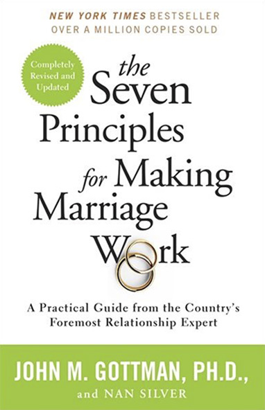 Book entitled The Seven Principles for Making Marriage Work