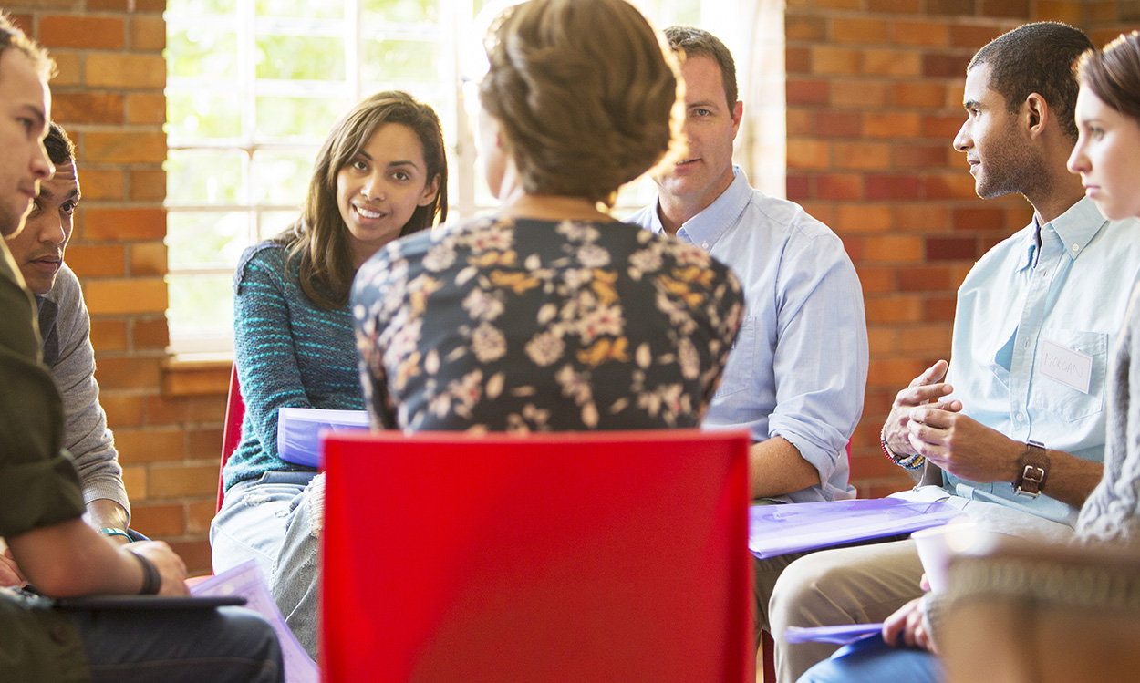 Group Therapy at Stage to Stage Counselling