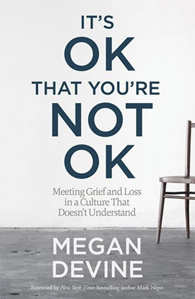 Book entitled It's OK that you're Not OK
