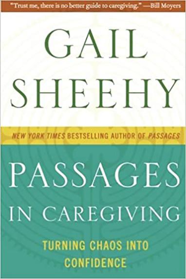 Book entitled Passages in Caregiving